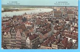 Antwerpen-Anvers-1911-Panorama En De Schelde (Escaut)-Gekleurd-Colorisée - Antwerpen
