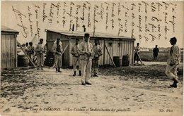 CPA Camp De CHALONS - Les Cuisines Et La Distribution Des Gamelles (363658) - Camp De Châlons - Mourmelon