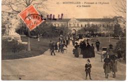 DEPT 34 : édit. Galdin N° 27 : Montpellier Promenade De L Esplanade Et La Citadelle - Montpellier