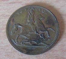 "Royaume-Uni - Victoria Queen - Jeton / Token ""To Hanover"" 1830 - Monarchia/ Nobiltà"