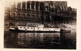 "BUDAPEST : BATEAU ROUMAIN ""ANGHEL SALIGNY"" Sur DANUBE - CARTE VRAIE PHOTO / REAL PHOTO POSTCARD ~ 1930 (ac872) - Bulgarije"