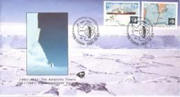 5199  Traité Sur L'Antarctique: Env. 1er Jour Afrique Du Sud, 1991 -  Antarctic Treaty System. Penguin Manchot Pingouin - Antarktisvertrag