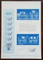 COLLECTION HISTORIQUE - YT N°2469A - JOURNEE DU TIMBRE - 1987 - FDC