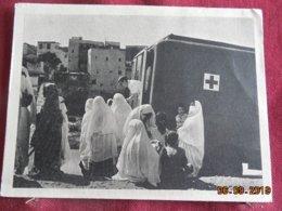 Carte D'Algerie De 1956 Avec Cachet Militaire ( Infirmières De La Croix Rouge) - Lettres & Documents