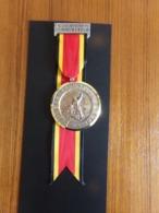 "Suisse Médaille En Bronze Avec Ruban "" 19 Marche Du Rütli, 1972, Bavois Paul Kramel Neuchatel, Stauffacher - Tokens & Medals"