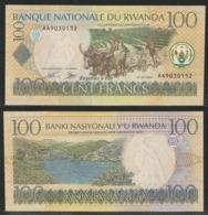 RWANDA - 100 FRANCS - 2003 -  UNC - Ruanda