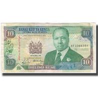 Billet, Kenya, 10 Shillings, 1989-10-14, KM:24a, TB - Kenia