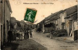 CPA VILLERS Sur MARNE - Une Rue Du Village (277131) - Autres Communes