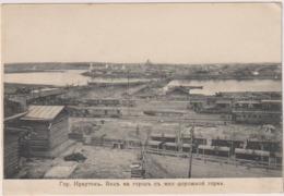 Irkutsk.View To City From Railway Embankment. - Russia