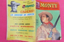 MONTY Du Texas Au Canada *** Bimensuel N°14 **** Année 1960 **** BHR 024X - Magazines