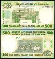 RWANDA - 500 FRANCS - 2008 -  UNC - Ruanda