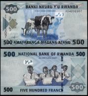 RWANDA - 500 FRANCS - 2013 -  UNC - Ruanda