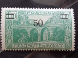 MONACO 1926-31 Y&T N° 107 ** - SURCHARGE - Monaco