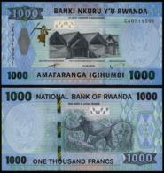 RWANDA – 1 000 FRANCS - 2019 -  UNC - Ruanda