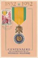 Carte Maximum -  Centenaire De La Création De La Médaille Militaire - Cameroun