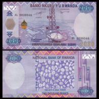 RWANDA – 2 000 FRANCS - 2014 -  UNC - Ruanda