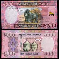 RWANDA – 5 000 FRANCS - 2014 -  UNC - Ruanda