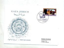 Lettre Fdc 1994 Gaza Ville - Palestine