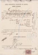 1900-documento Con Marca Da Bollo - 1878-00 Umberto I