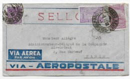 1933 - ENVELOPPE Via AEROPOSTALE De RIO DE JANEIRO (BRESIL) => PARIS - VOIR DOS - Airmail