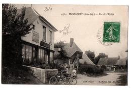 HAUCOURT RUE DE L EGLISE EPICERIE TABAC CHOCOLAT MEUNIER ANIMEE - Frankreich