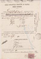 1900-documento Con Marca Da Bollo - Steuermarken
