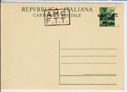 Trieste A, Cartolina Postale C 3B Nuova (05323) - Sin Clasificación