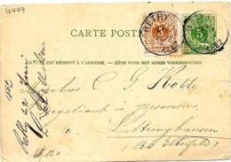 SH 0088. CP 13 + N° 28 RETHY 22 JUIN V. L' Allemagne. Bon Bureau. TB - Stamped Stationery