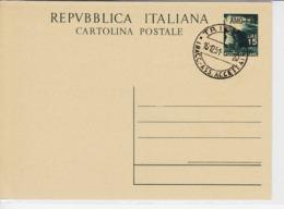 Trieste A, Cartolina Postale C 13 Annullata Non Viaggiata (05325) - Sin Clasificación