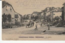 Environs De VAUVILLERS, MAILLERONCOURT ( Haute Saône) Le Centre , Animée ( Intitulé Rayé Par L'envoyeur) - Autres Communes