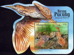 Malaysia 2015 MS MNH Herons & Bitterns BIRDS BIRD Oiseaux Oiseau - Cicogne & Ciconiformi