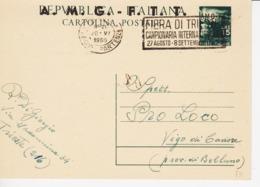 Trieste A, Cartolina Postale C 10 Annullata Viaggiata (05327) - Sin Clasificación