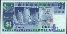 SINGAPORE - 1 Dollar Nd.(1987) {sign. Goh Keng Swee} UNC  P.18 A - Singapore