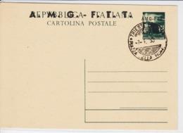 Trieste A, Cartolina Postale C 10 Annullata Non Viaggiata (05328) - Sin Clasificación