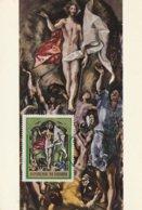 Carte Maximum - La Résurection Par Greco Au Musée Du Prado - Burundi
