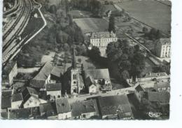Verrey Sous Salmaise Vue Aérienne Eglise Et Château - Otros Municipios