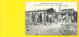TAOURIRT Rare Légionnaires Construisant Le Cercle Des Officiers Militaria (Boumendil) Maroc - Sonstige