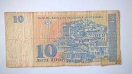 North Macedonia-Severna Makedonija 10 Denari 1993, P-9a - Macédoine