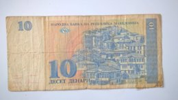 North Macedonia-Severna Makedonija 10 Denari 1993, P-9a - Macedonië