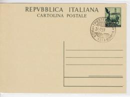Trieste A, Cartolina Postale C 16A Annullata Non Viaggiata  (05332) - Sin Clasificación