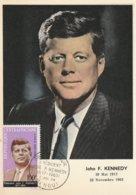 Carte Maximum -  John F. Kennedy - Centrafricaine (République)