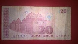 North Macedonia-Severna Makedonija 10 Denari 1993, P-10a - Macédoine