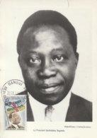 Carte Maximum -  Le Président Barthélémy Boganda - Central African Republic