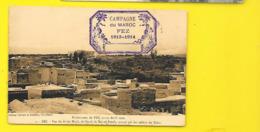 FEZ Rare Militaria Vue Du Fortin Bab El Ftouh (Niddam Assuline) Maroc - Fez