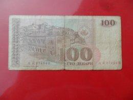 North Macedonia-Severna Makedonija 100 Denari 1993, P-12a - Macédoine