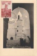 Carte Maximum -  Mosquée D'Ouadni - Comores