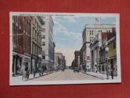 Main Street-- Stamp Peeled Off Back   Connecticut > Bridgeport   Ref   3599 - Bridgeport