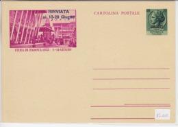 Trieste A, Cartolina Postale C 25 Nuova  (05341) - Sin Clasificación