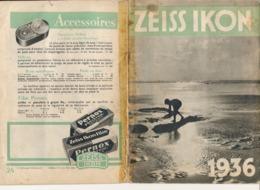 Catalogue ZEISS IKON 1936 - Photographie