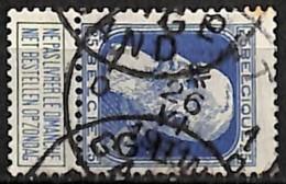 [840404]TB//O/Used-Belgique 1905 - N° 75, 25c Bleu, GENT - GAND - 1905 Thick Beard